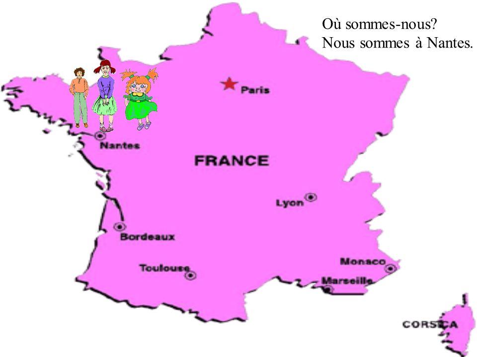Où sont Céline et Monique? Elles sont à Monaco. Où sont René et Roger? Ils sont à Paris.