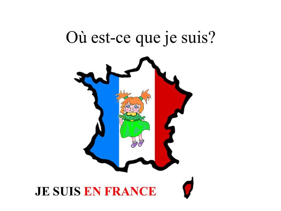 Qui est avec toi? Roger est avec moi. Nous sommes en France. Cest vrai. Vous êtes en France.