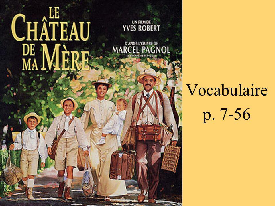 Vocabulaire p. 7-56