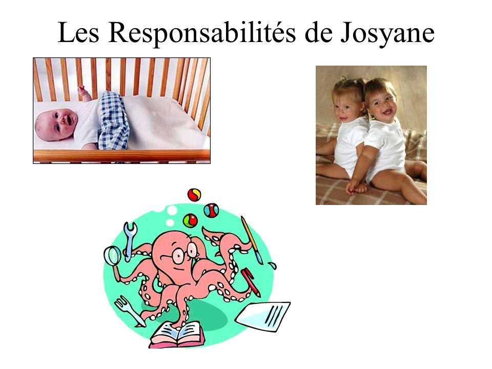 Les Responsabilités de Josyane