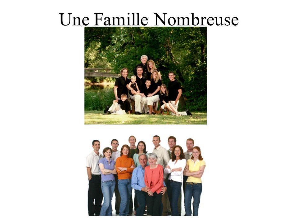 Une Famille Nombreuse
