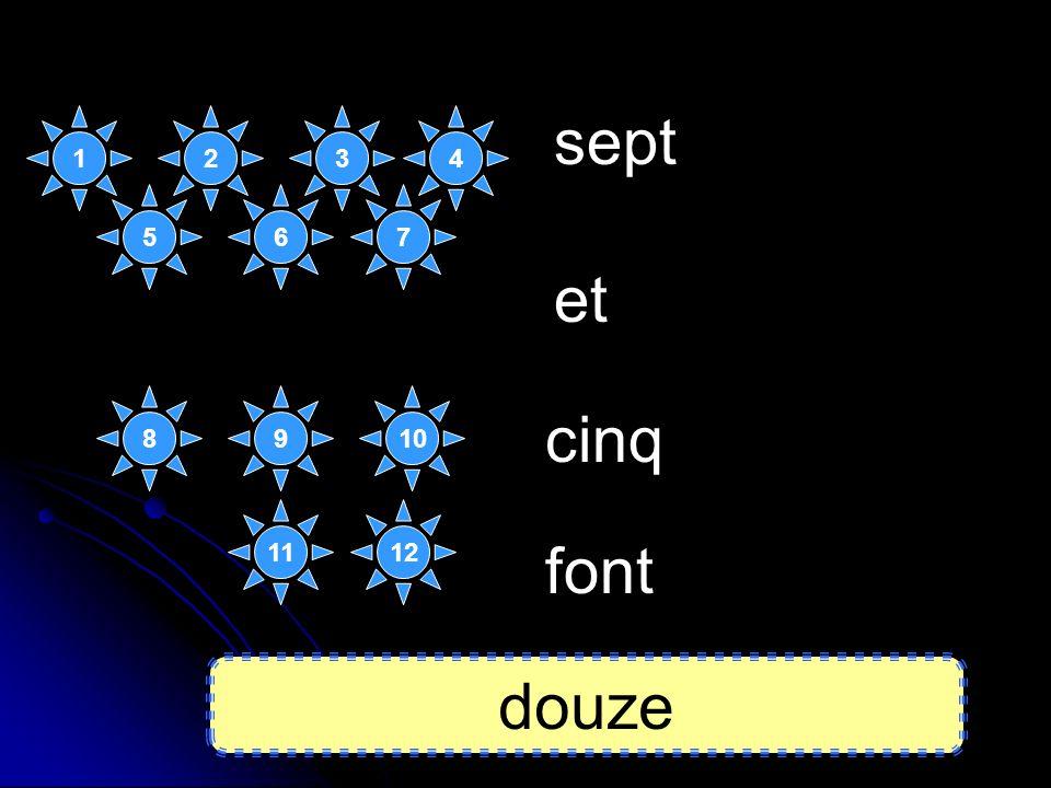 six dix et font seize 2 3 4 89 12 107 11 13 141516 6 51