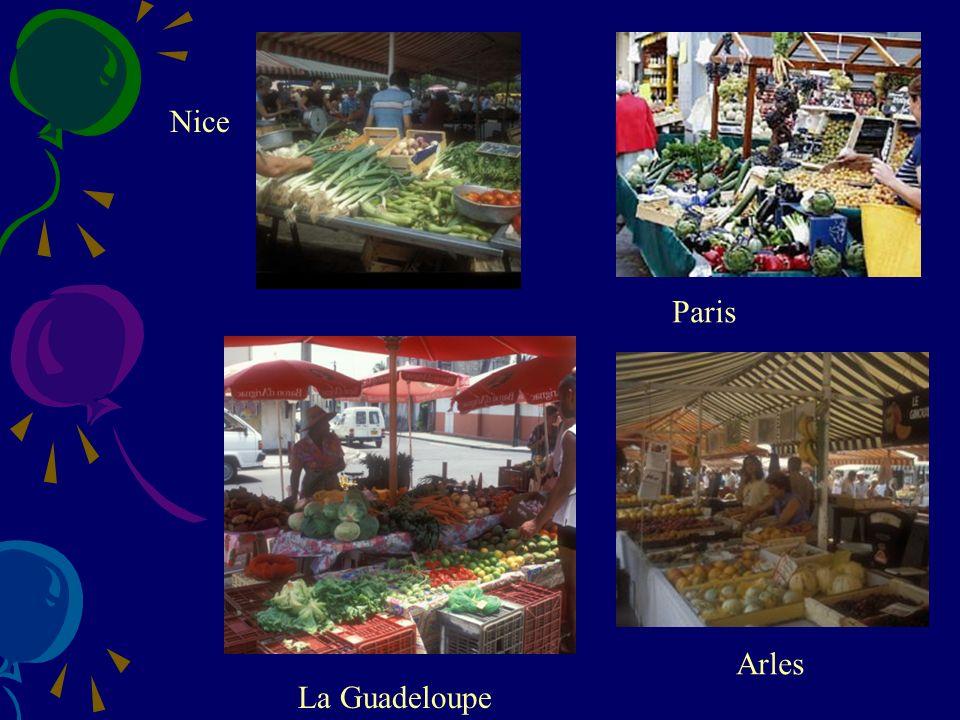 La Guadeloupe Nice Paris Arles