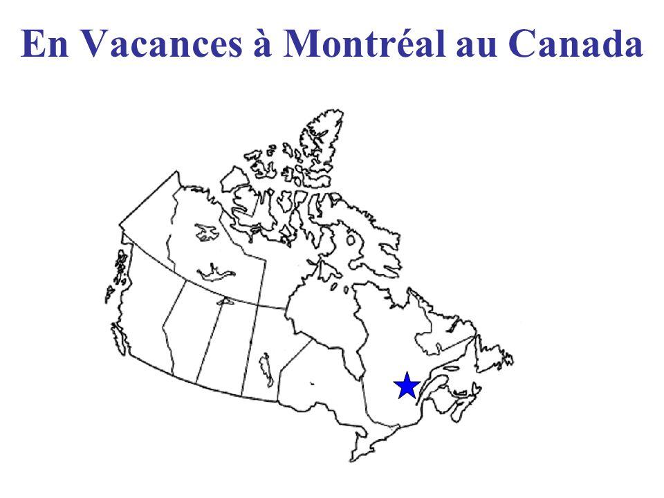 En Vacances à Montréal au Canada