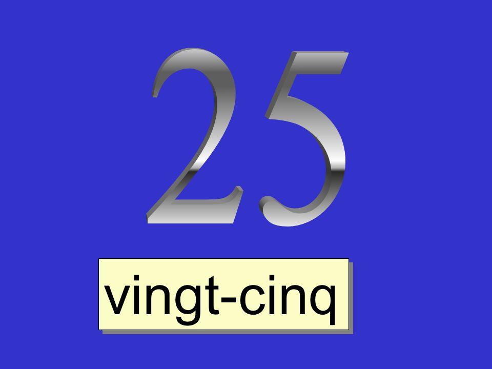 vingt-cinq