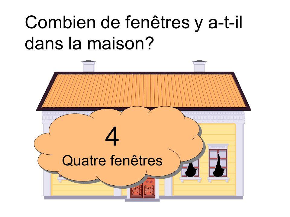 Combien de fenêtres y a-t-il dans la maison