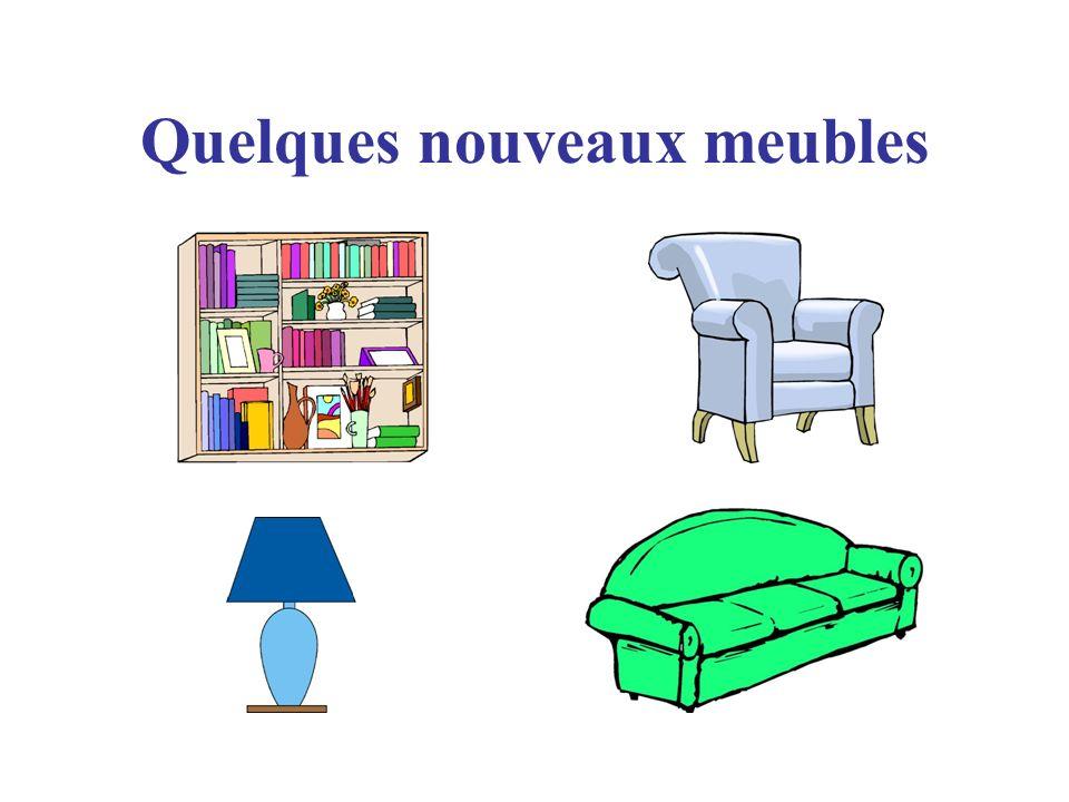 Quelques nouveaux meubles