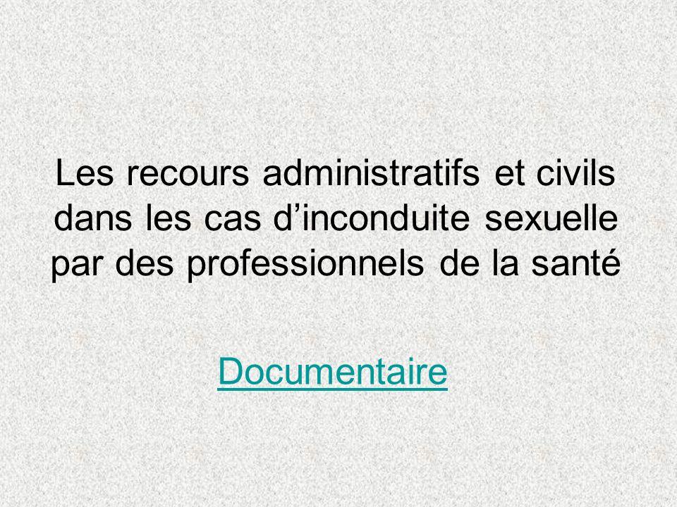 Trois catégories de recours Criminel Civil Administratif © Julie Lassonde