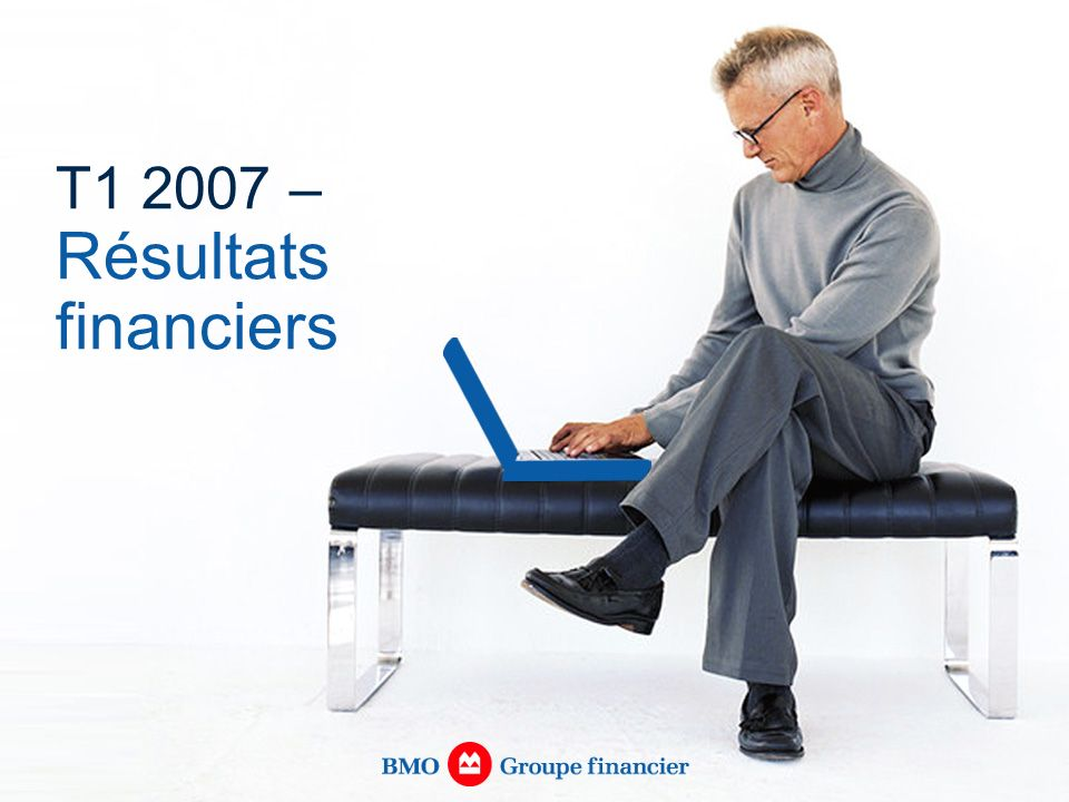 T1 2007 – Résultats financiers