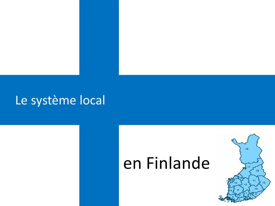 Le système local en Finlande