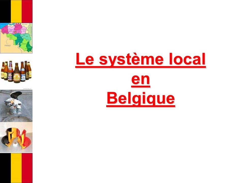 Le système local en Belgique