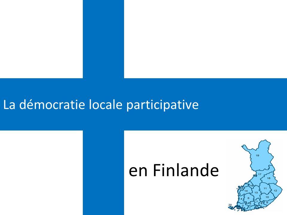 La démocratie locale participative en Finlande
