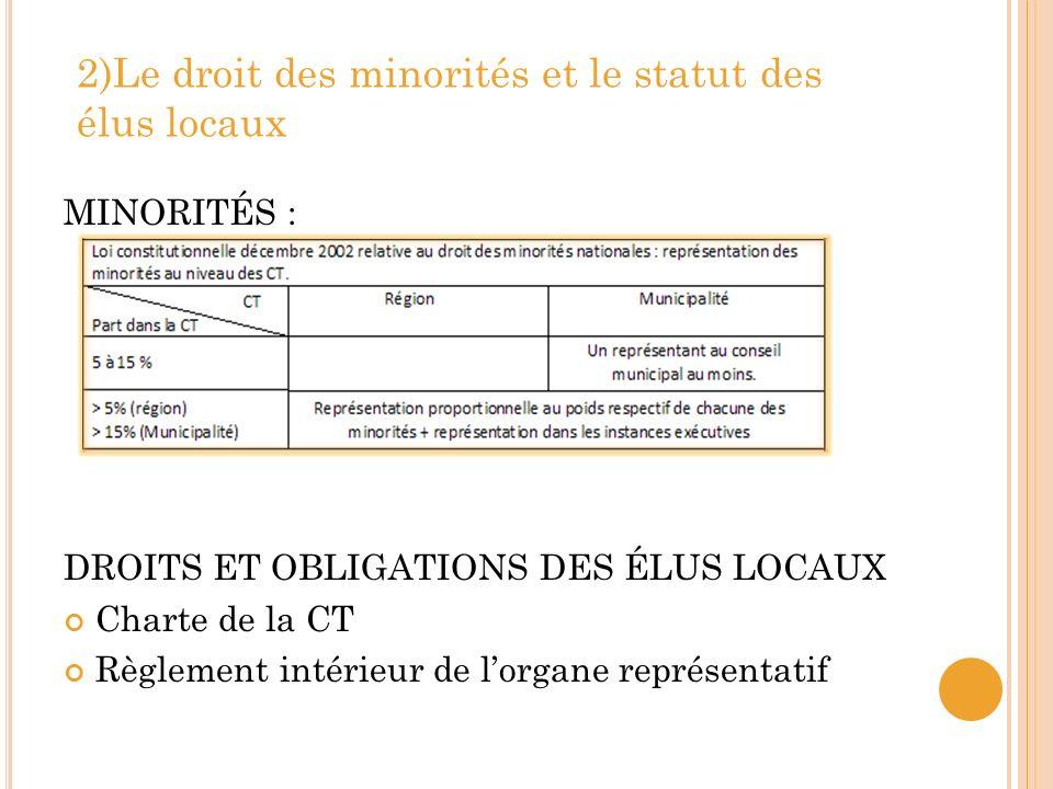 Deuxième partie : Laction publique locale A- LES COMPÉTENCES LOCALES C ONSTITUTION : Droit à une autonomie locale et régionale.