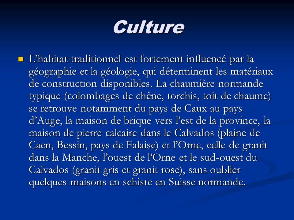 Culture Lhabitat traditionnel est fortement influencé par la géographie et la géologie, qui déterminent les matériaux de construction disponibles. La