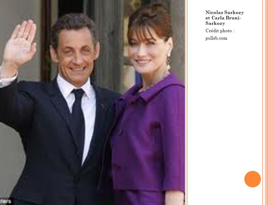 Nicolas Sarkozy et Carla Bruni- Sarkozy Crédit photo : pollsb.com
