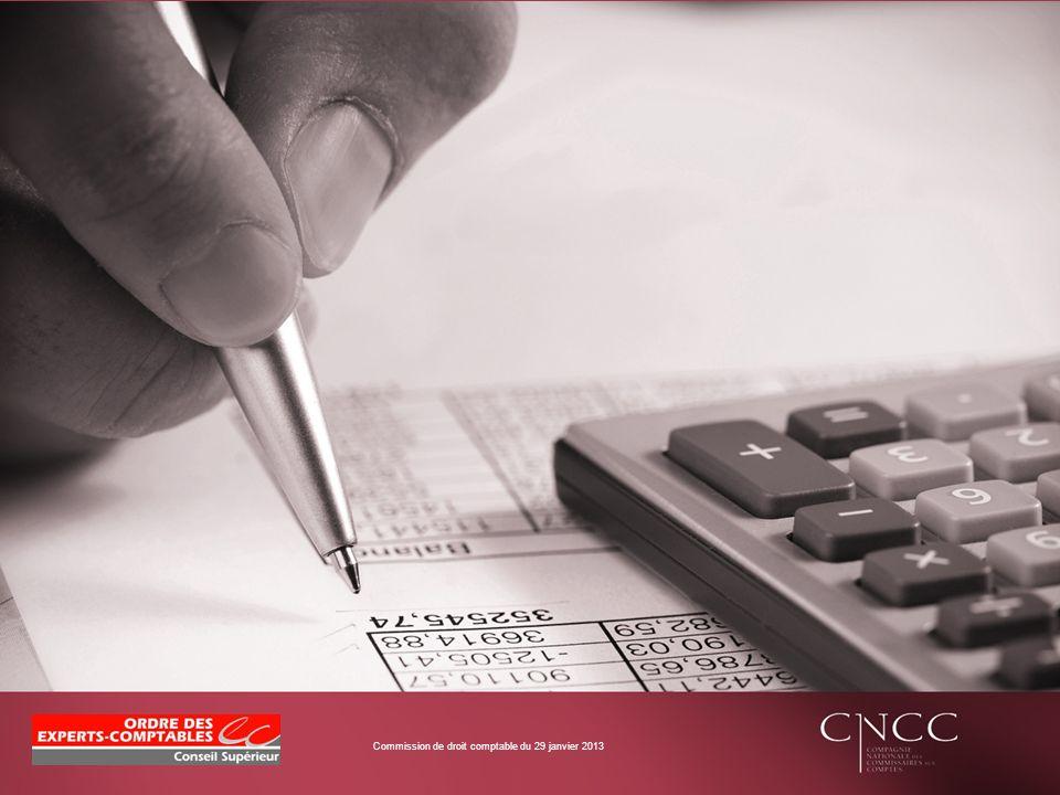 REPONSES COMMUNES DE LA COMMISSION DE DOCTRINE COMPTABLE CNCC - CSOEC Jean-Charles Boucher (Co-Président de la Commission commune de doctrine comptable CNCC - CSOEC)