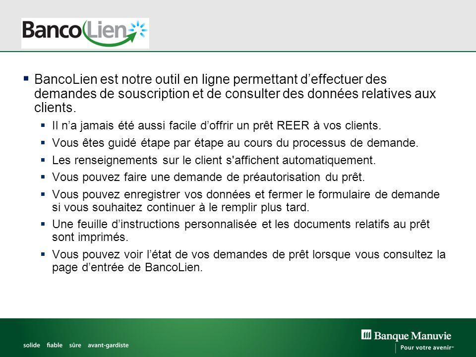 Comment accéder à BancoLien Ouvrez une session dans Inforep, à ladresse manuvie.ca/inforep.