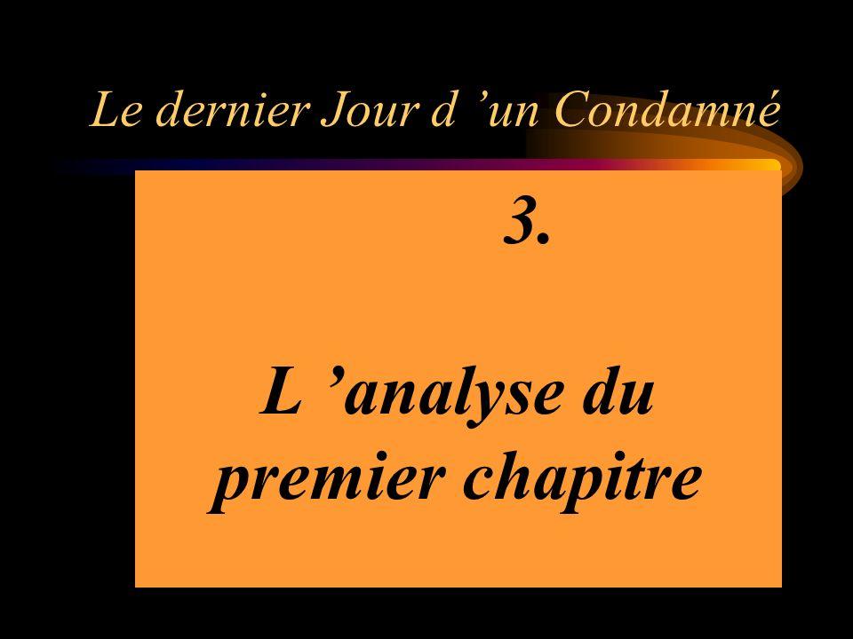 Le dernier Jour d un Condamné Etrange monologue puisquil sagit dune production écrite.