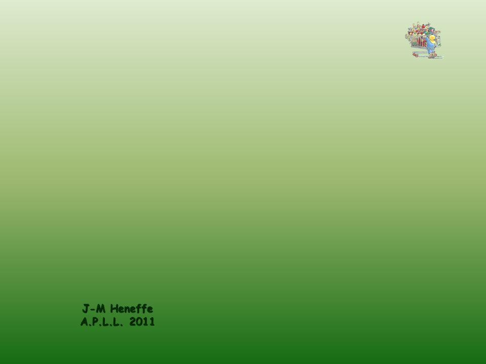 J-M Heneffe A.P.L.L. 2011