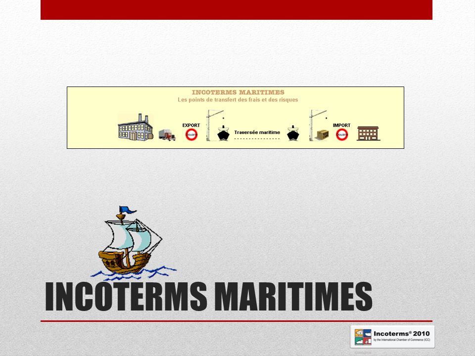 INCOTERMS MARITIMES