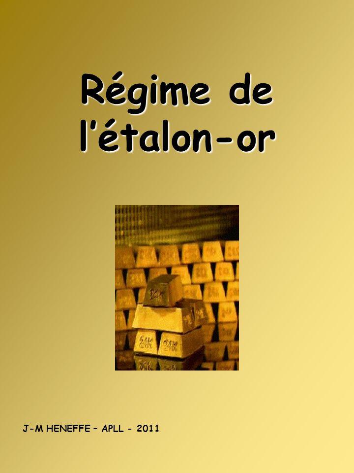 Régime de létalon-or J-M HENEFFE – APLL - 2011