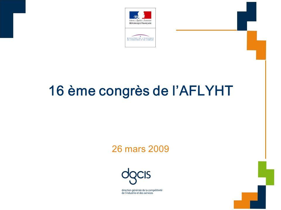 16 ème congrès de lAFLYHT 26 mars 2009