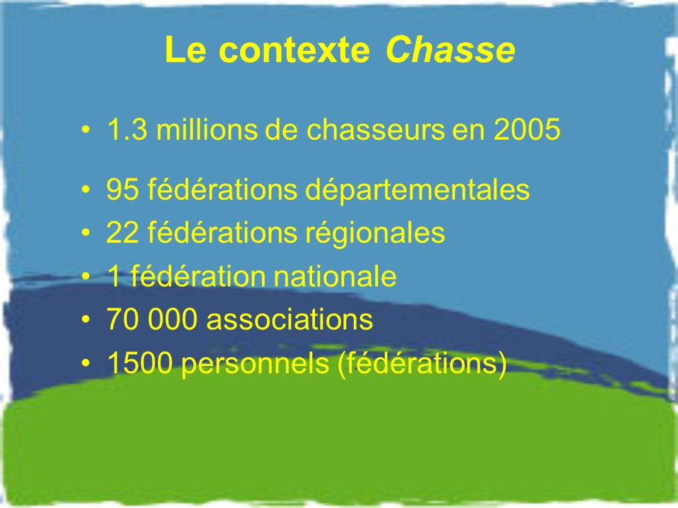 NATURA 2000 Une grande inquiétude notamment en zone humide : What impact of NATURA 2000 on Hunting .