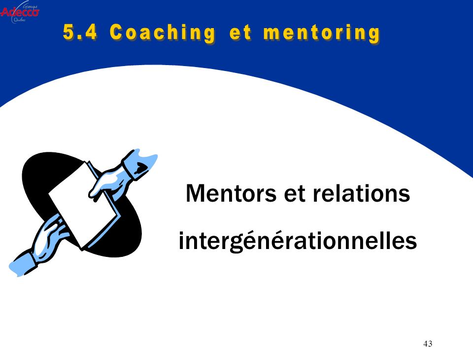 43 Mentors et relations intergénérationnelles