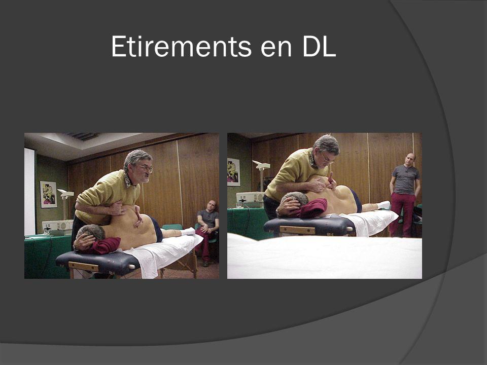 Etirements en DL