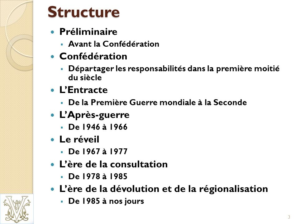 Dévolution et régionalisation – II LAccord du lac Meech échoue en 1990.