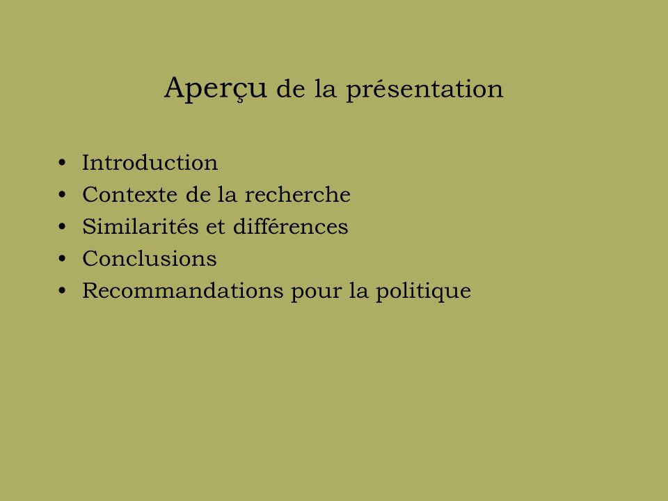 Thème 6a : migration, transnationalisme et impérialisme culturel La mythologie du pays de destination.