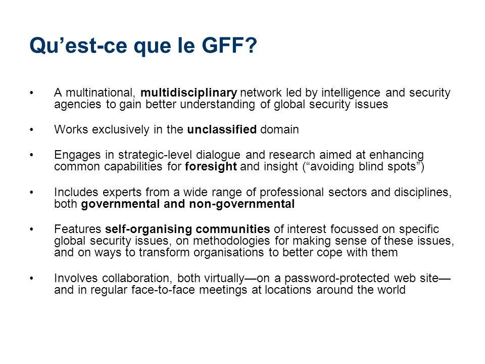 Que fait le GFF.