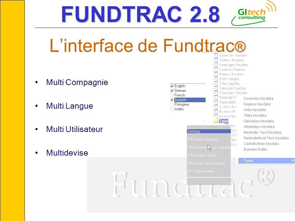 © GITECH Consulting6 Multi Compagnie Multi Langue Multi Utilisateur Multidevise ___________________________________________________________ ® Linterfa