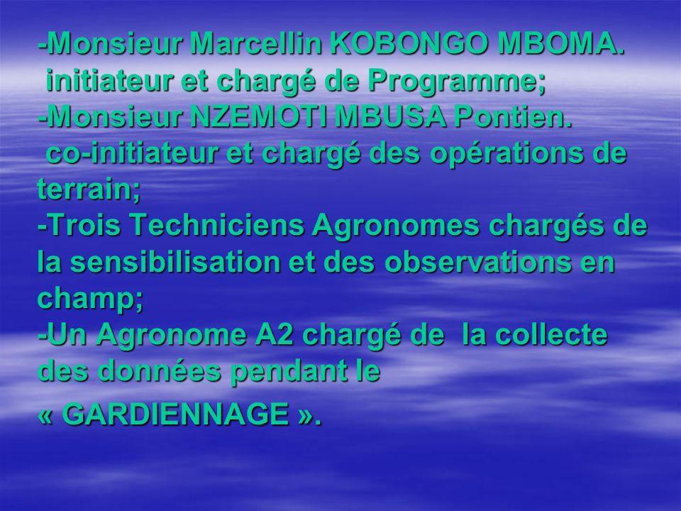 -Monsieur Marcellin KOBONGO MBOMA.