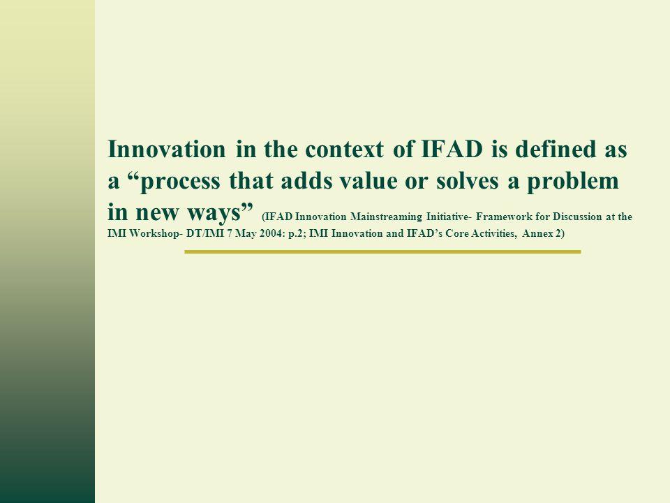Page 3 Plateforme Globale des bailleurs de Fond, le FIDA, IFPRI et GTZ.