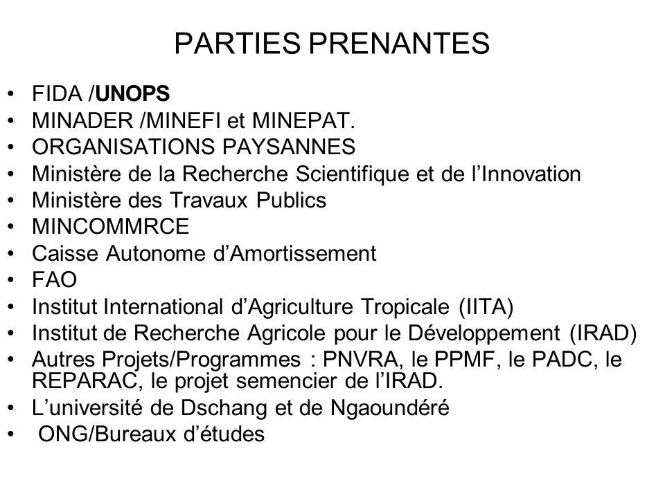 Zone dintervention Le PNDRT couvre lensemble du territoire national.