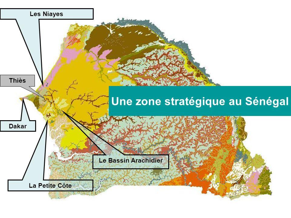Thiès Les Niayes La Petite Côte Le Bassin Arachidier Une zone stratégique au Sénégal Dakar