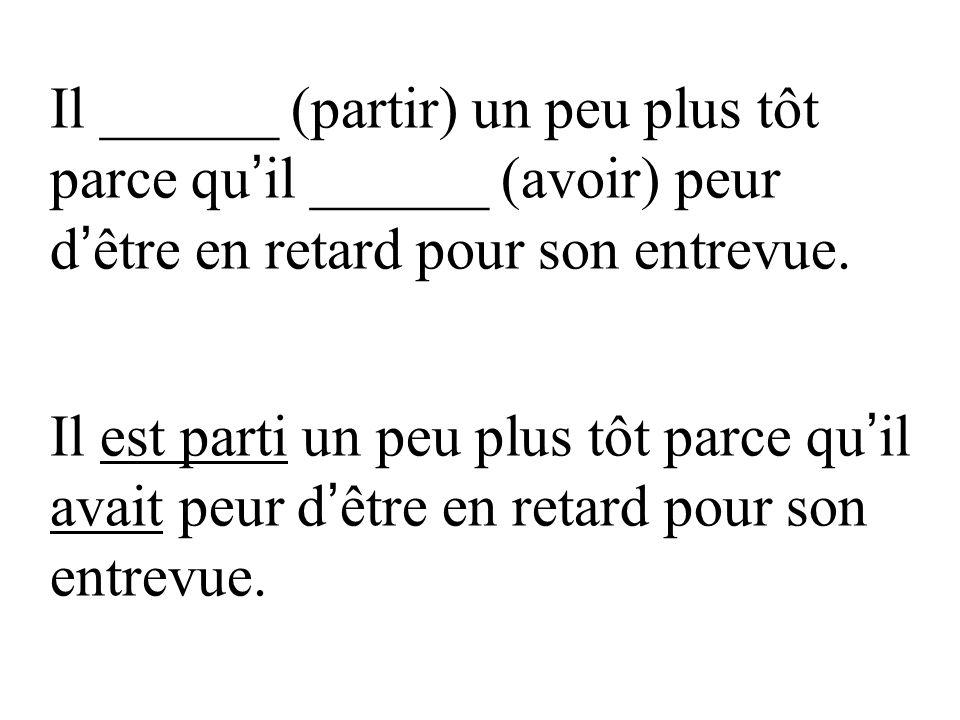Non, je ne le _______ (savoir) pas. [No, I didn t know about it]