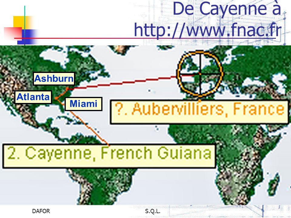 DAFORS.Q.L. De Cayenne à http://www.fnac.fr Miami Atlanta Ashburn