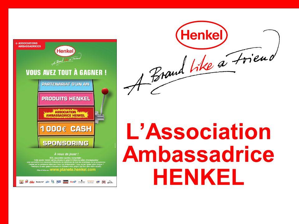 LAssociation Ambassadrice HENKEL