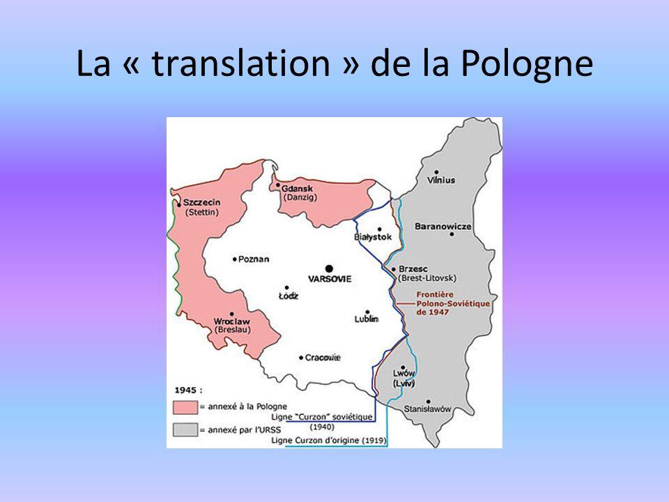 La « translation » de la Pologne