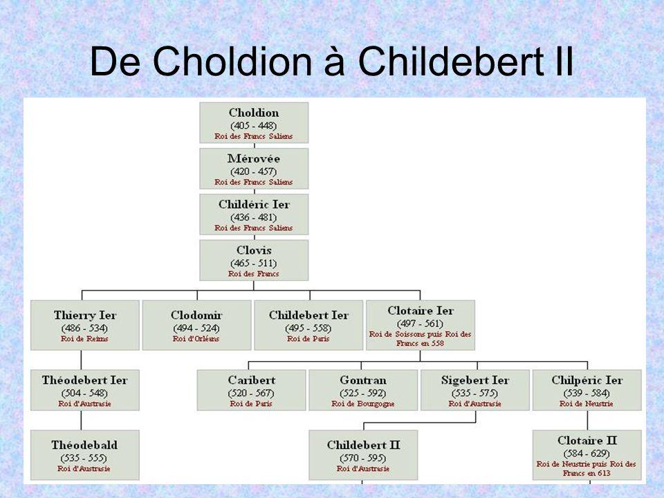 De Choldion à Childebert II