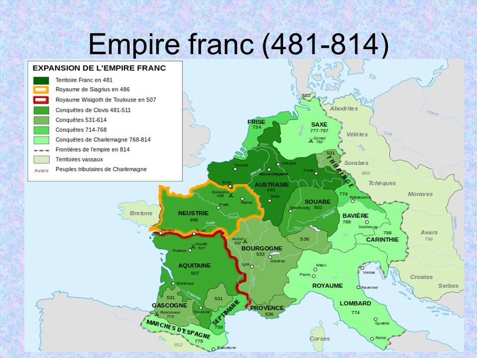 Empire franc (481-814)