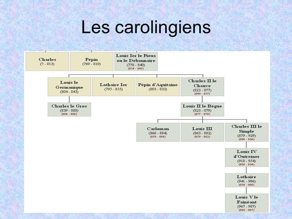 Les carolingiens