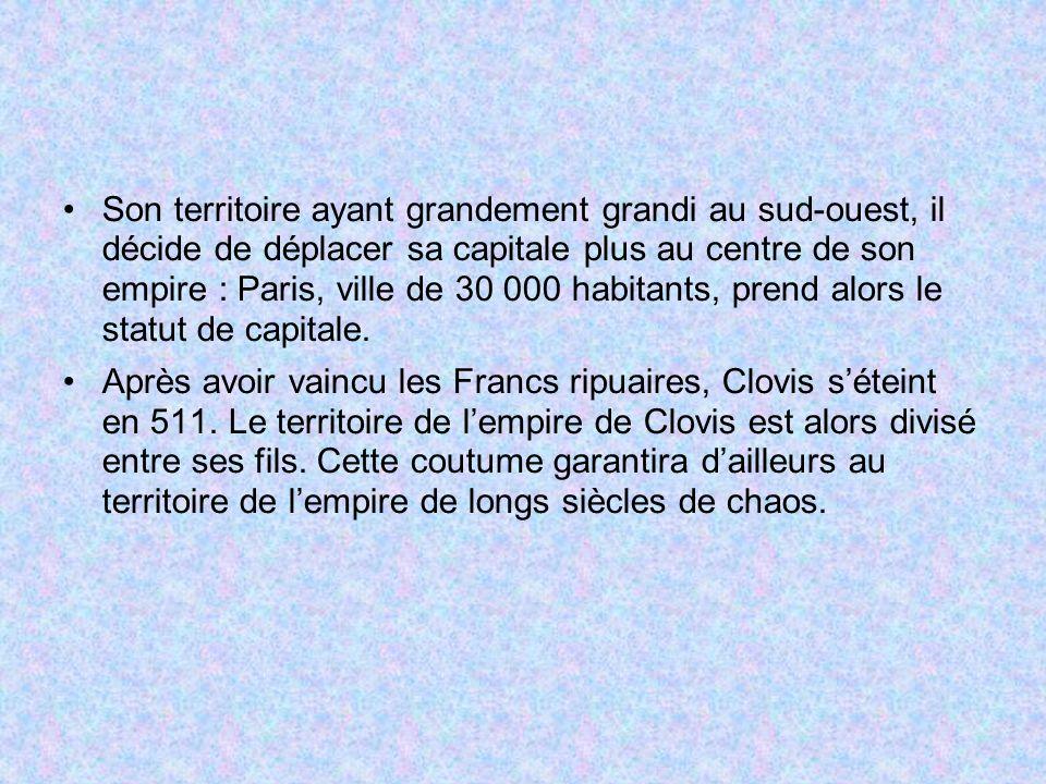 Le traité de Verdun (843)