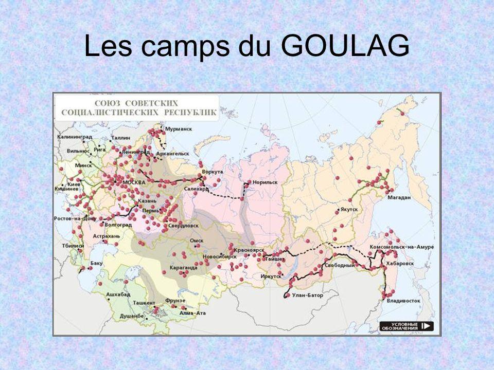 Les camps du GOULAG