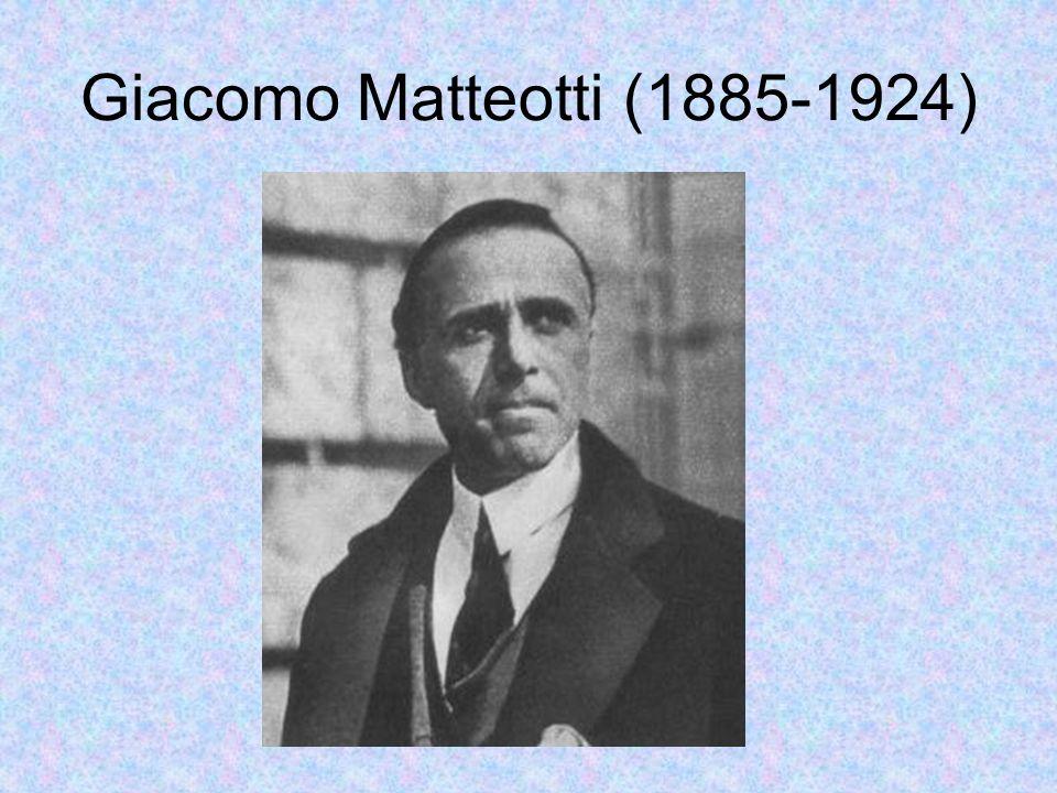 Giacomo Matteotti (1885-1924)