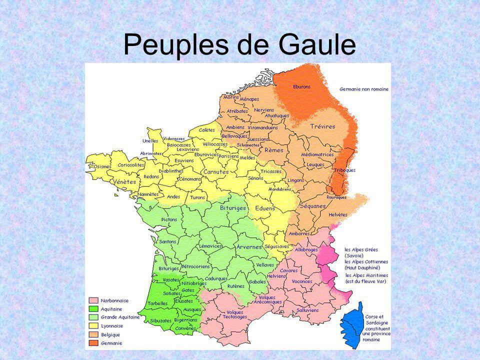 Peuples de Gaule