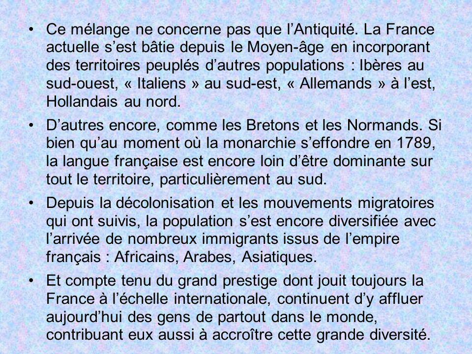 1.5 – La tentation impériale Comme toutes les grandes nations occidentales, la France a connu son épopée impériale.