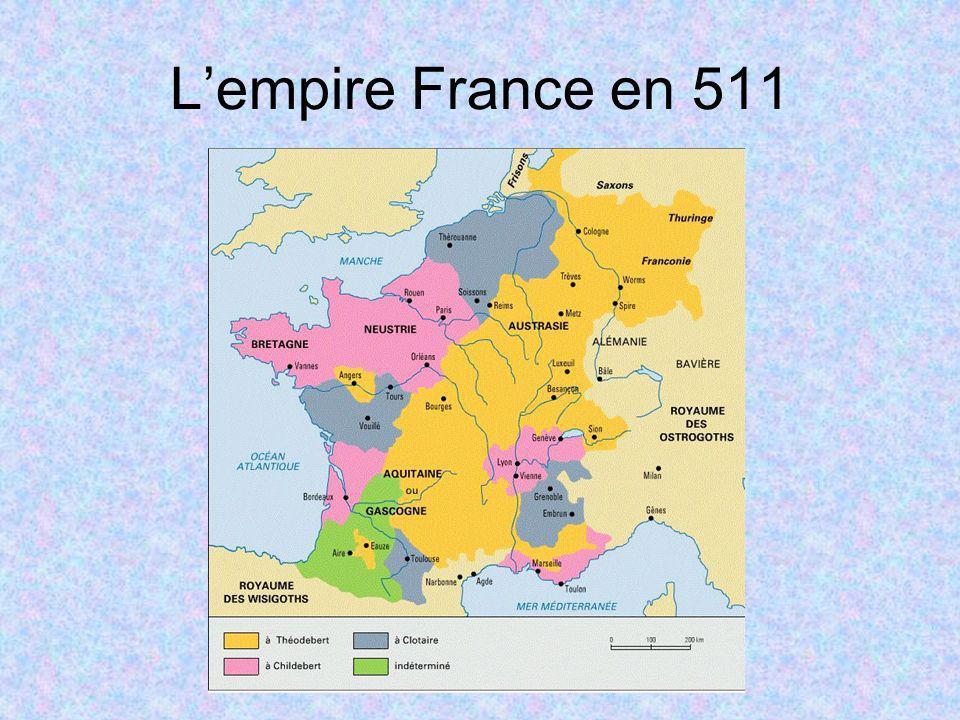 Lempire France en 511